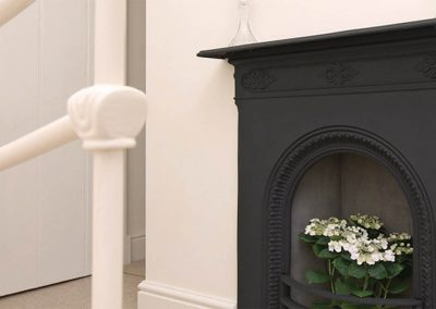 Coast Cottage – Fireplace Detail