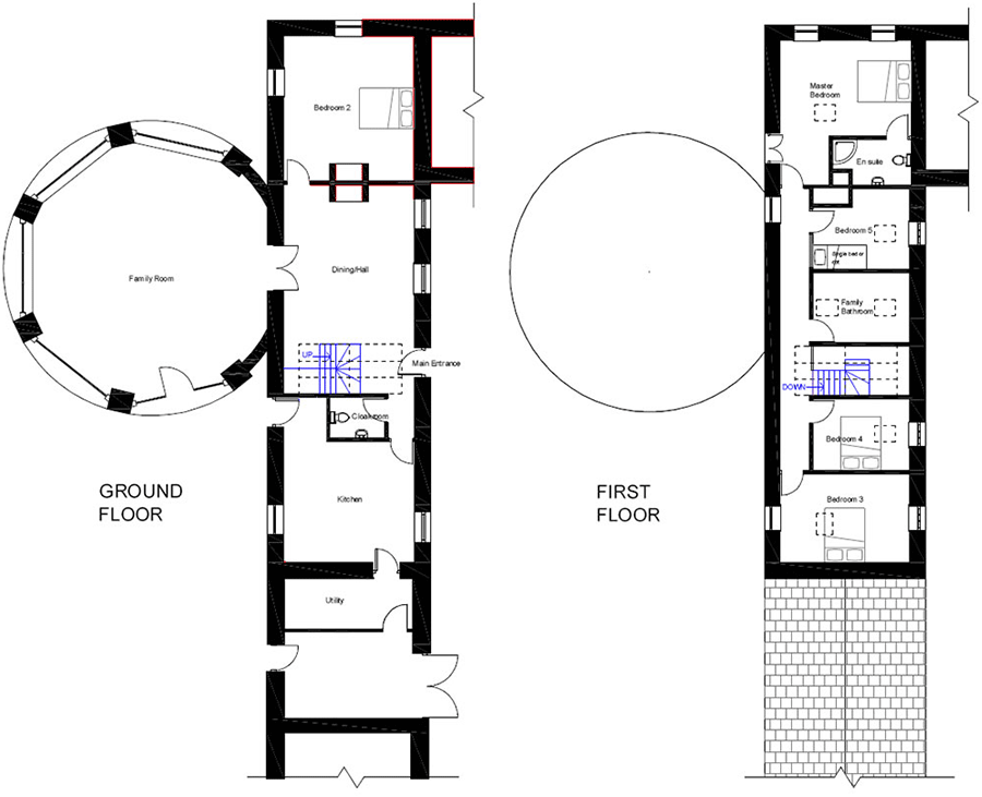 Swallow's End – Floorplans